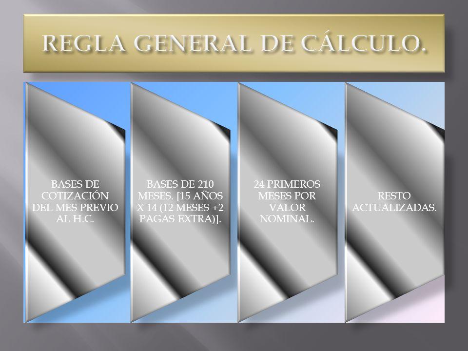 REGLA GENERAL DE CÁLCULO.