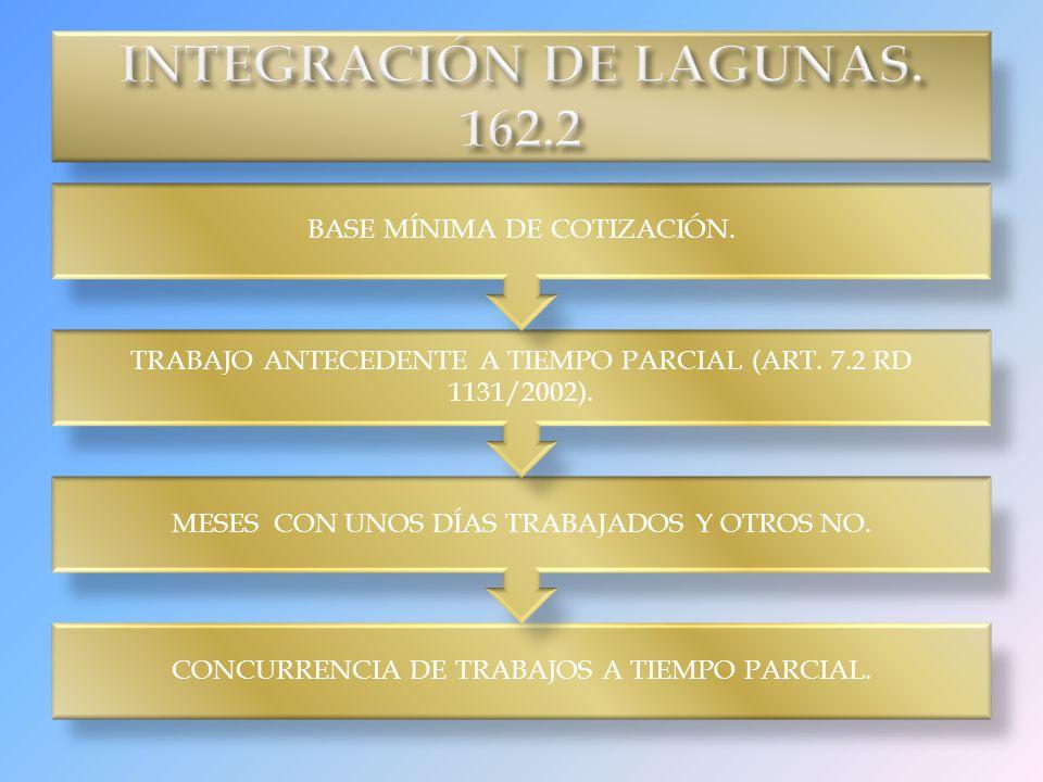 INTEGRACIÓN DE LAGUNAS. 162.2