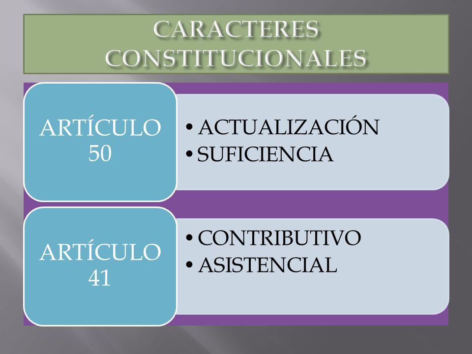 CARACTERES CONSTITUCIONALES