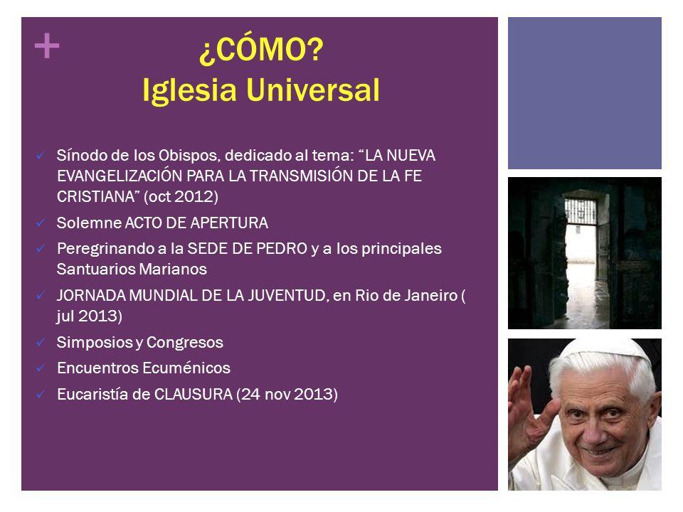 ¿CÓMO Iglesia Universal