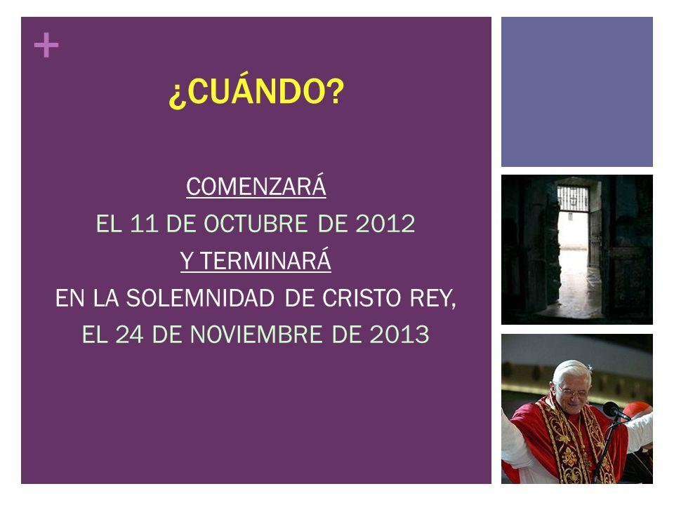 EN LA SOLEMNIDAD DE CRISTO REY,