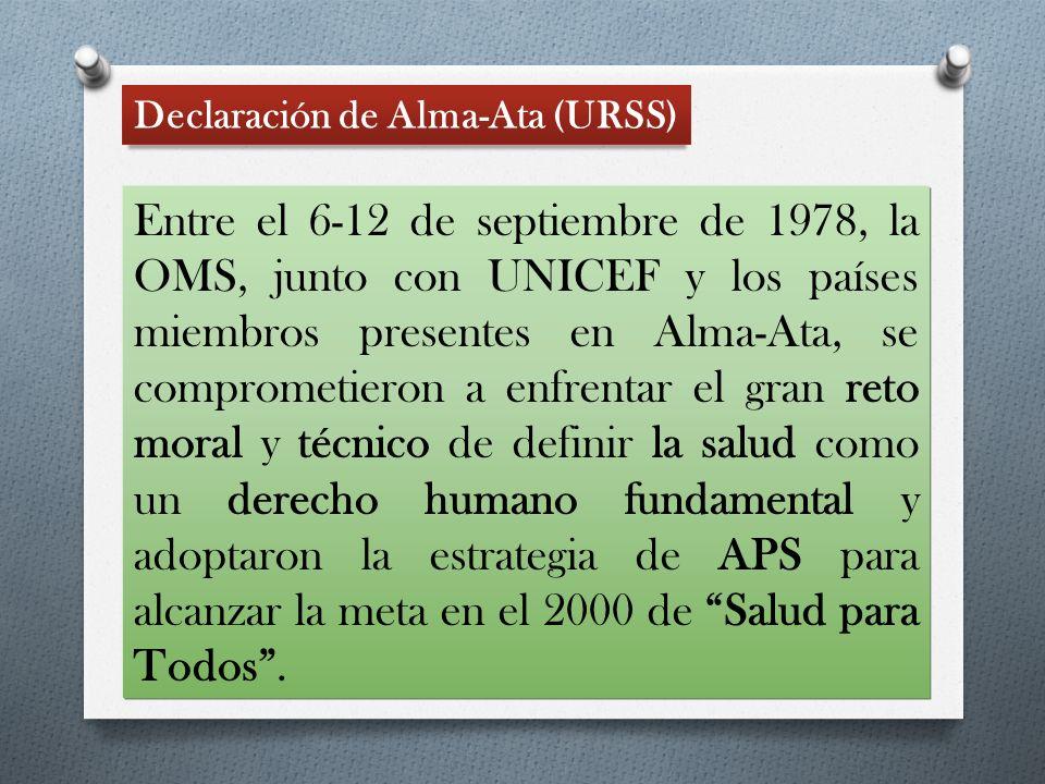 Declaración de Alma-Ata (URSS)