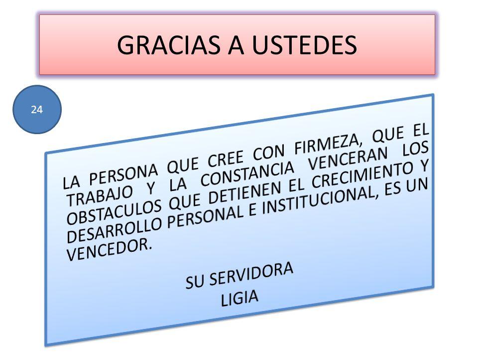 GRACIAS A USTEDES 24.