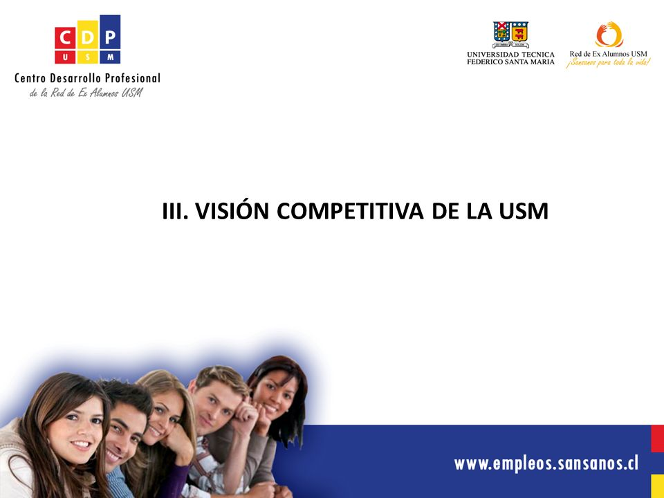 III. VISIÓN COMPETITIVA DE LA USM