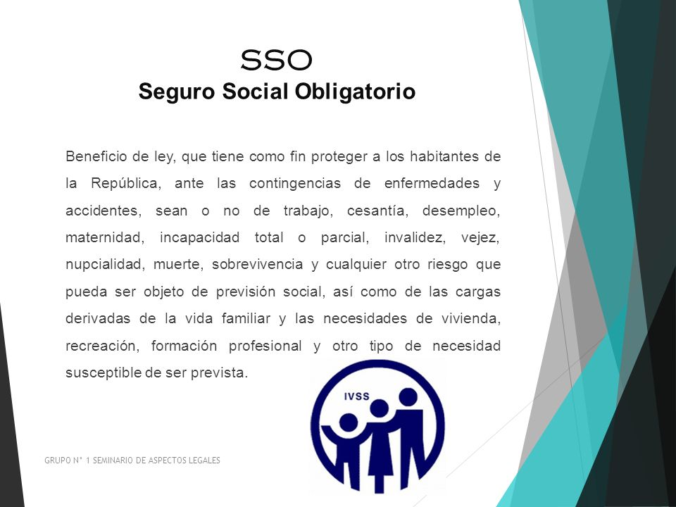 SSO Seguro Social Obligatorio