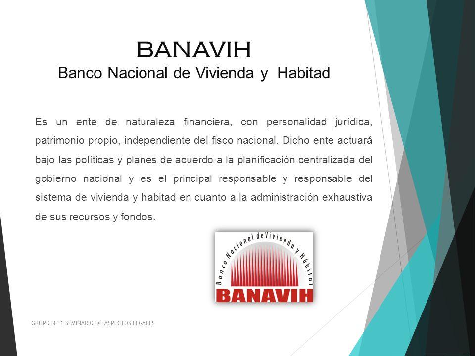 BANAVIH Banco Nacional de Vivienda y Habitad