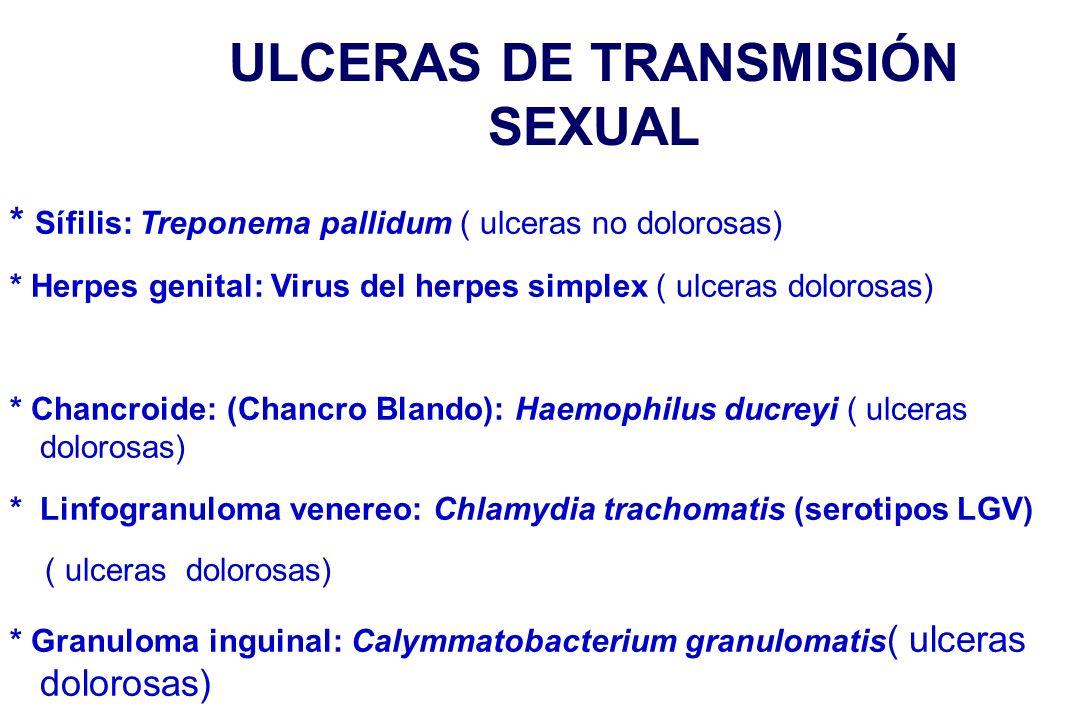 ULCERAS DE TRANSMISIÓN SEXUAL