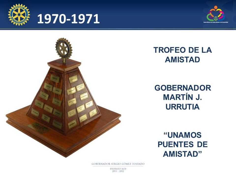 GOBERNADOR MARTÍN J. URRUTIA UNAMOS PUENTES DE AMISTAD