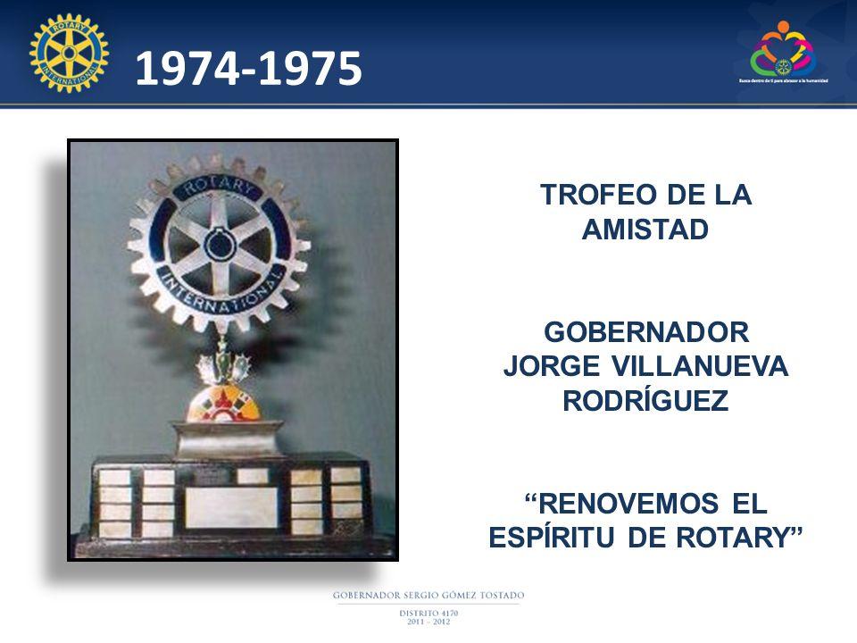 JORGE VILLANUEVA RODRÍGUEZ RENOVEMOS EL ESPÍRITU DE ROTARY