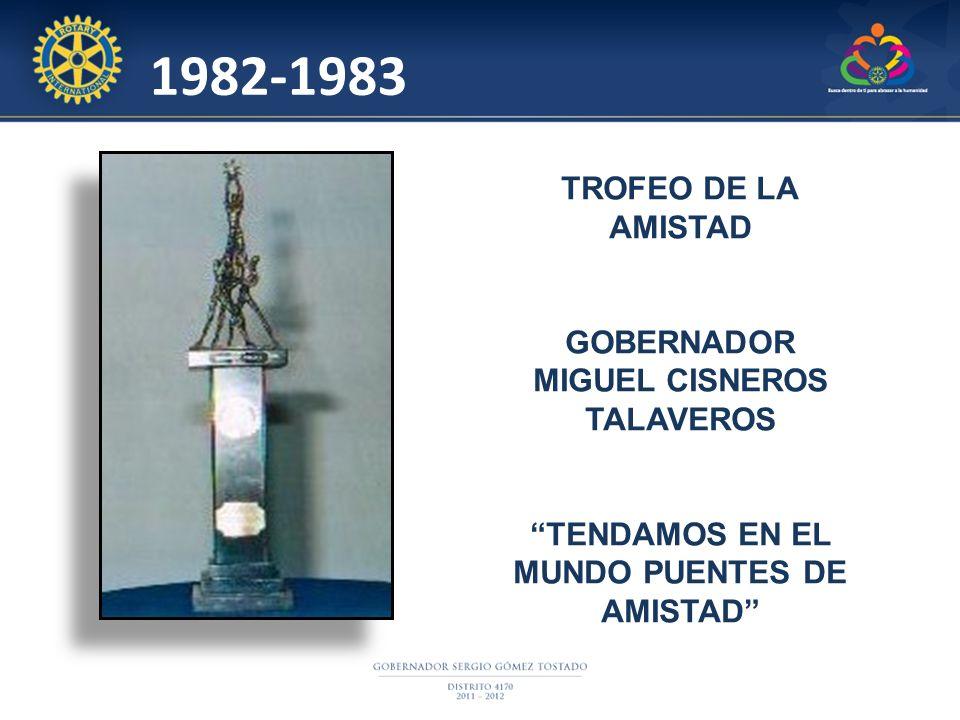 MIGUEL CISNEROS TALAVEROS TENDAMOS EN EL MUNDO PUENTES DE AMISTAD
