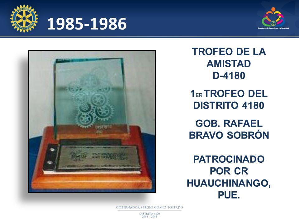 GOB. RAFAEL BRAVO SOBRÓN PATROCINADO POR CR HUAUCHINANGO, PUE.