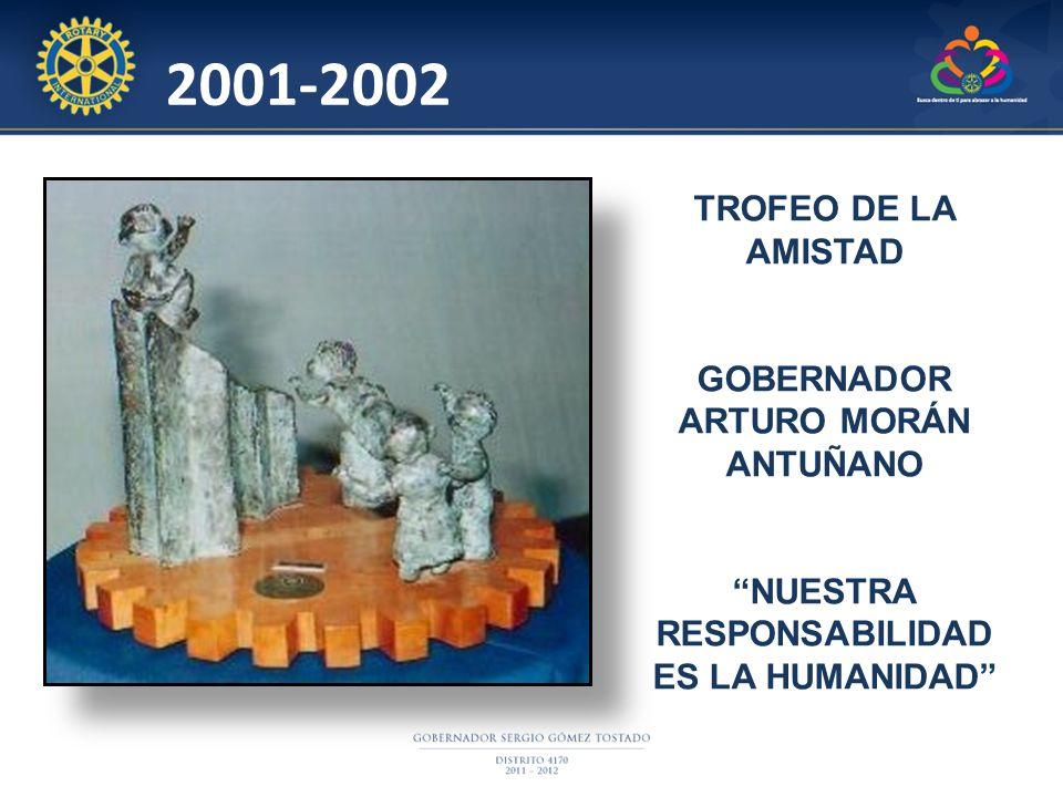2001-2002 TROFEO DE LA AMISTAD GOBERNADOR ARTURO MORÁN ANTUÑANO