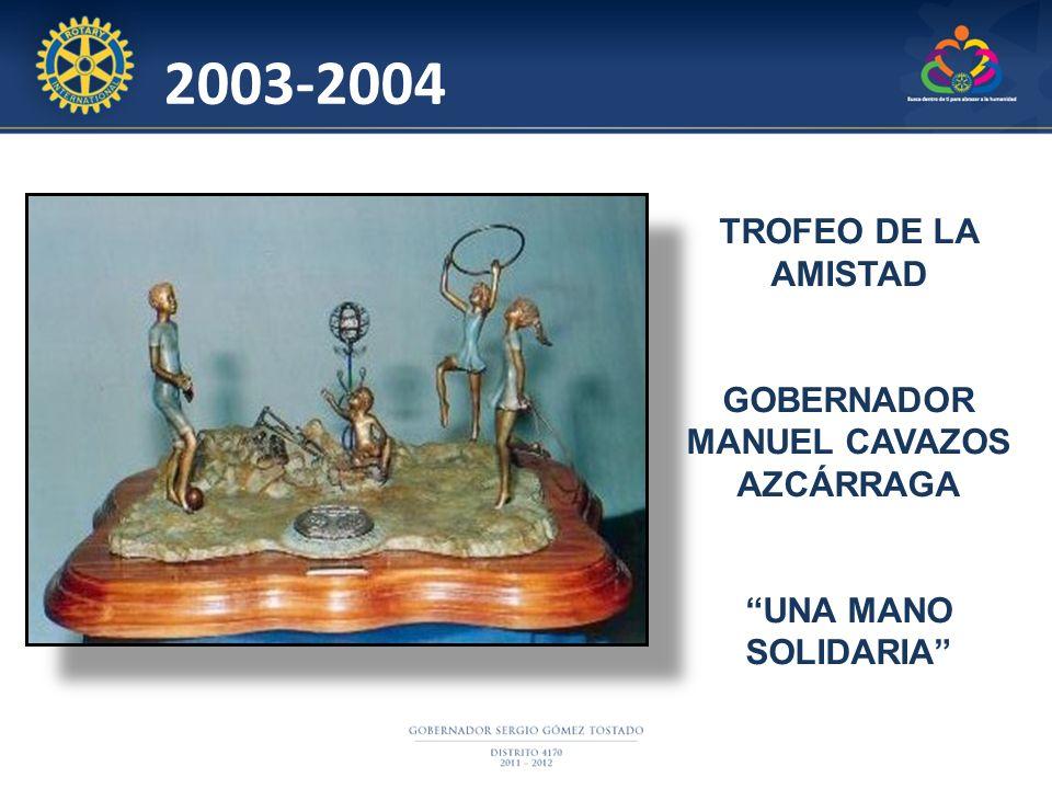 GOBERNADOR MANUEL CAVAZOS AZCÁRRAGA