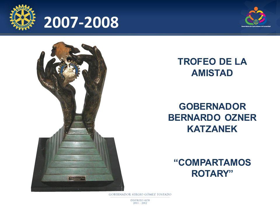 GOBERNADOR BERNARDO OZNER KATZANEK
