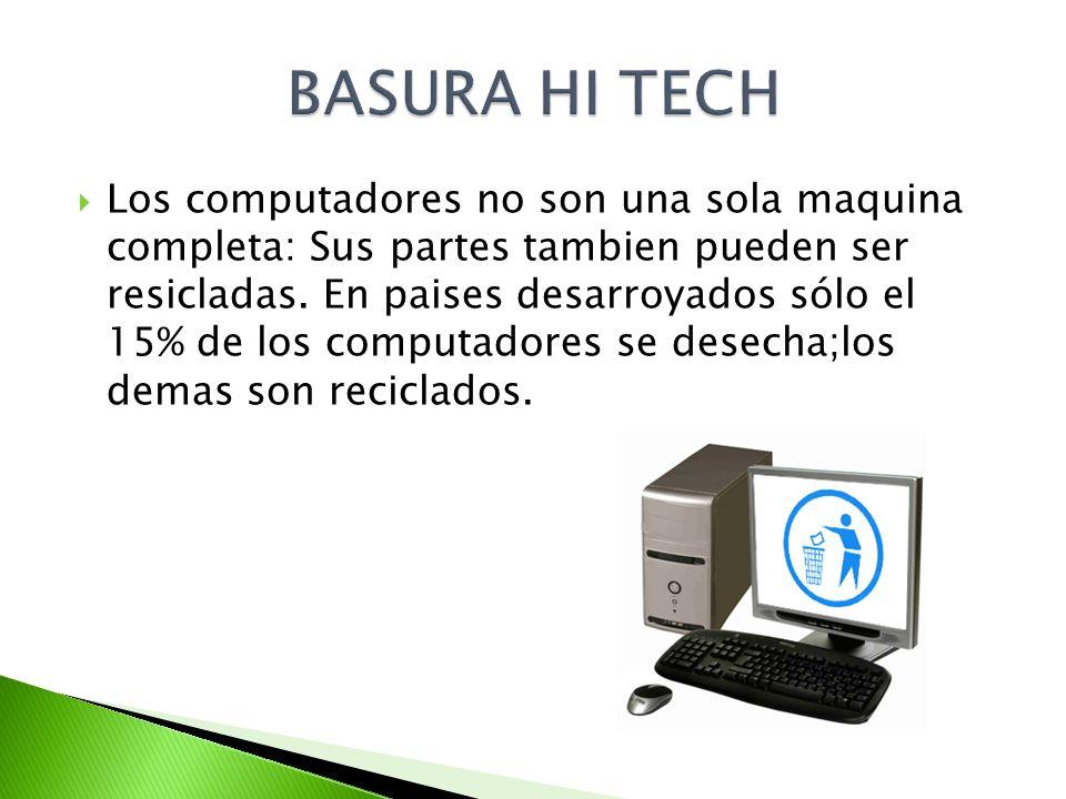 BASURA HI TECH