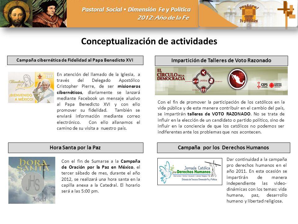 Conceptualización de actividades
