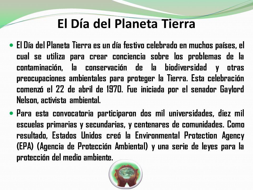 El Día del Planeta Tierra