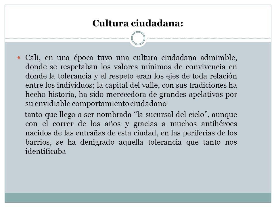 Cultura ciudadana: