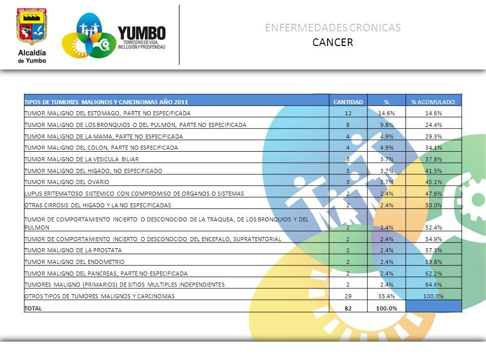 ENFERMEDADES CRONICAS CANCER