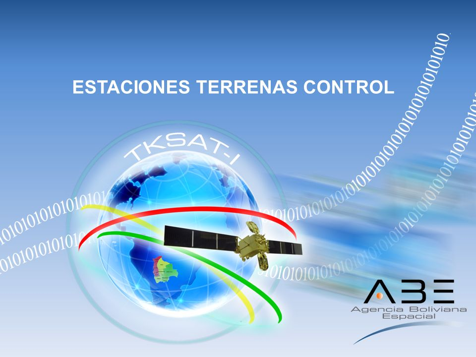 ESTACIONES TERRENAS CONTROL