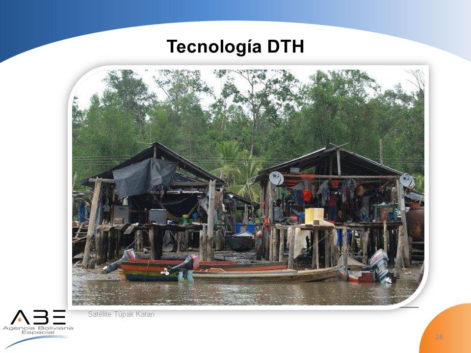 Tecnología DTH Satélite Túpak Katari