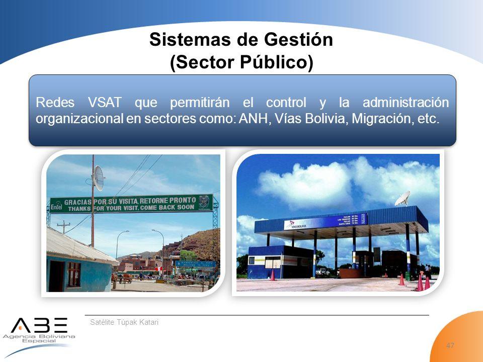 Sistemas de Gestión (Sector Público)