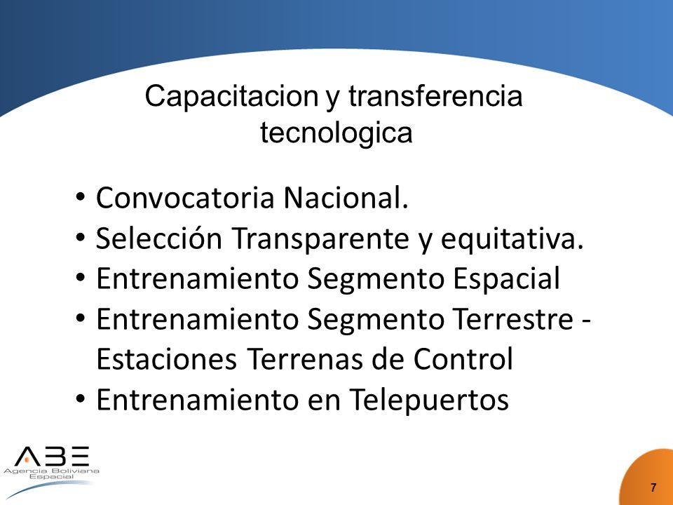 Capacitacion y transferencia