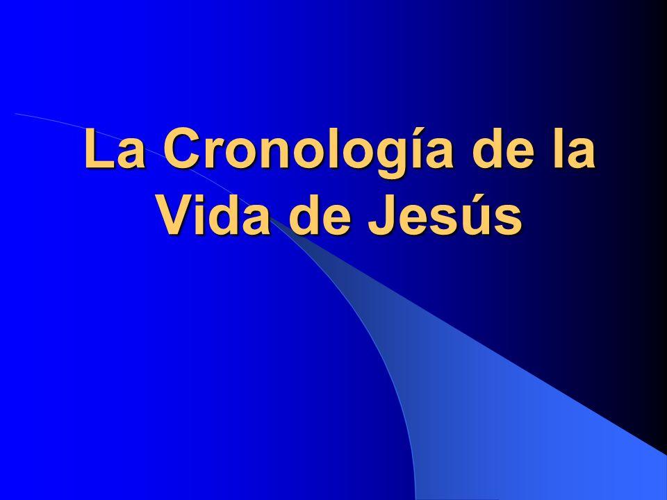 La Cronología de la Vida de Jesús