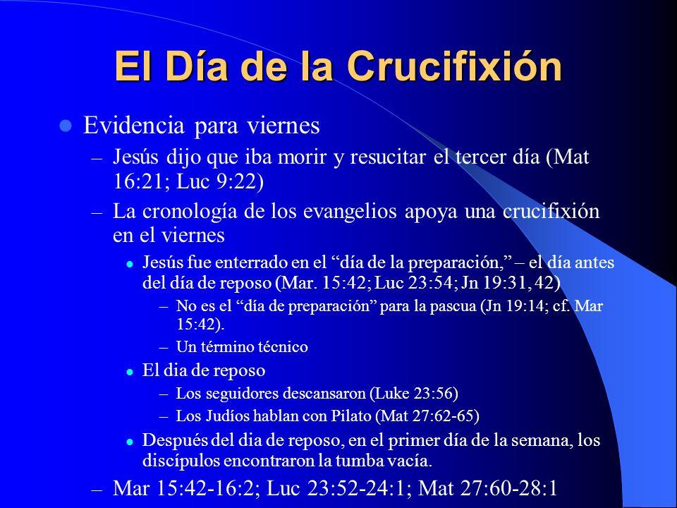 El Día de la Crucifixión