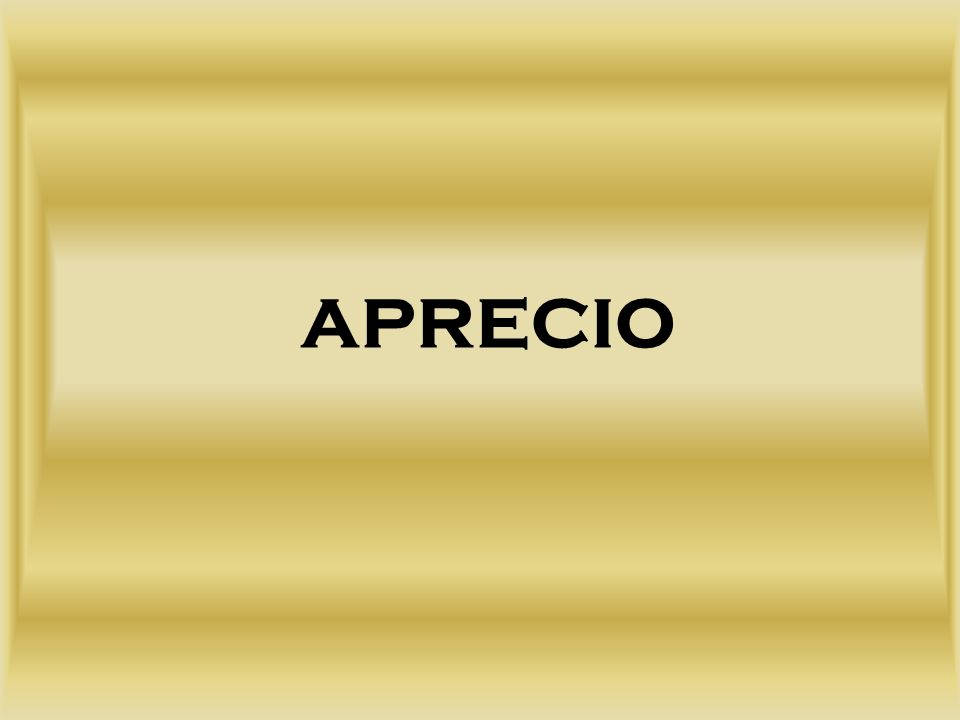 APRECIO