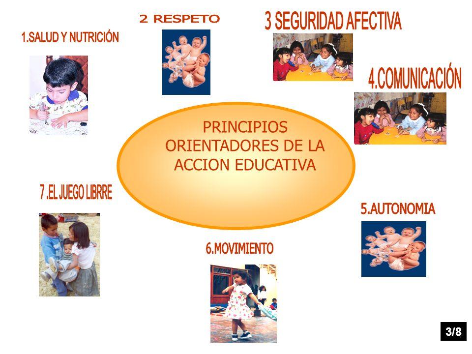 PRINCIPIOS ORIENTADORES DE LA ACCION EDUCATIVA
