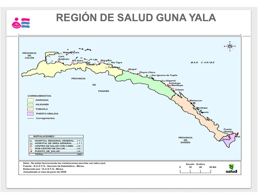 REGIÓN DE SALUD GUNA YALA