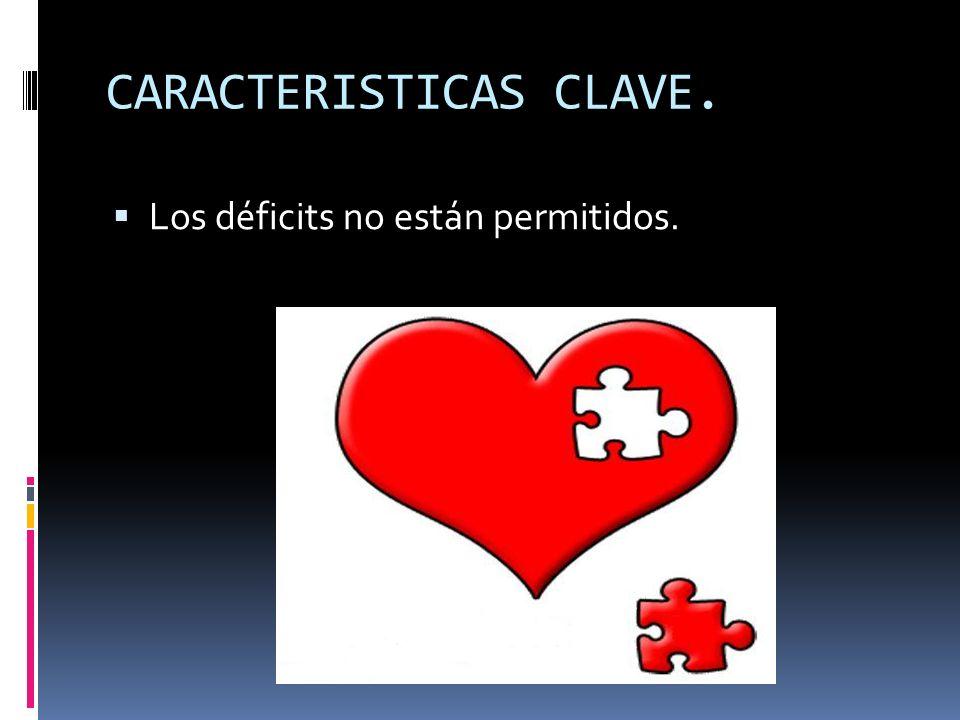CARACTERISTICAS CLAVE.