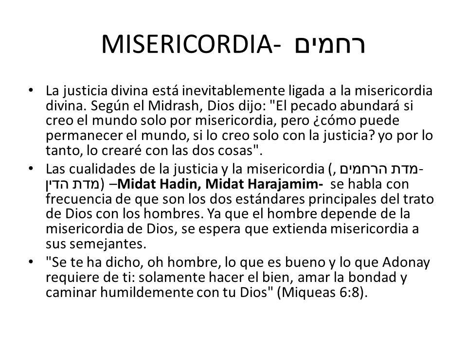 MISERICORDIA- רחמים