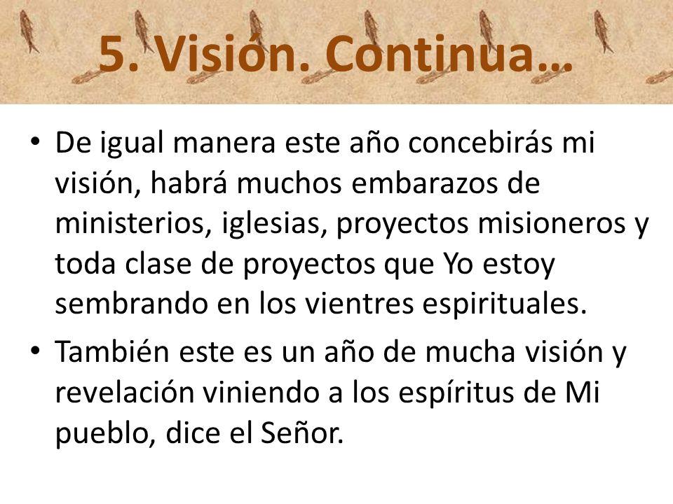 5. Visión. Continua…