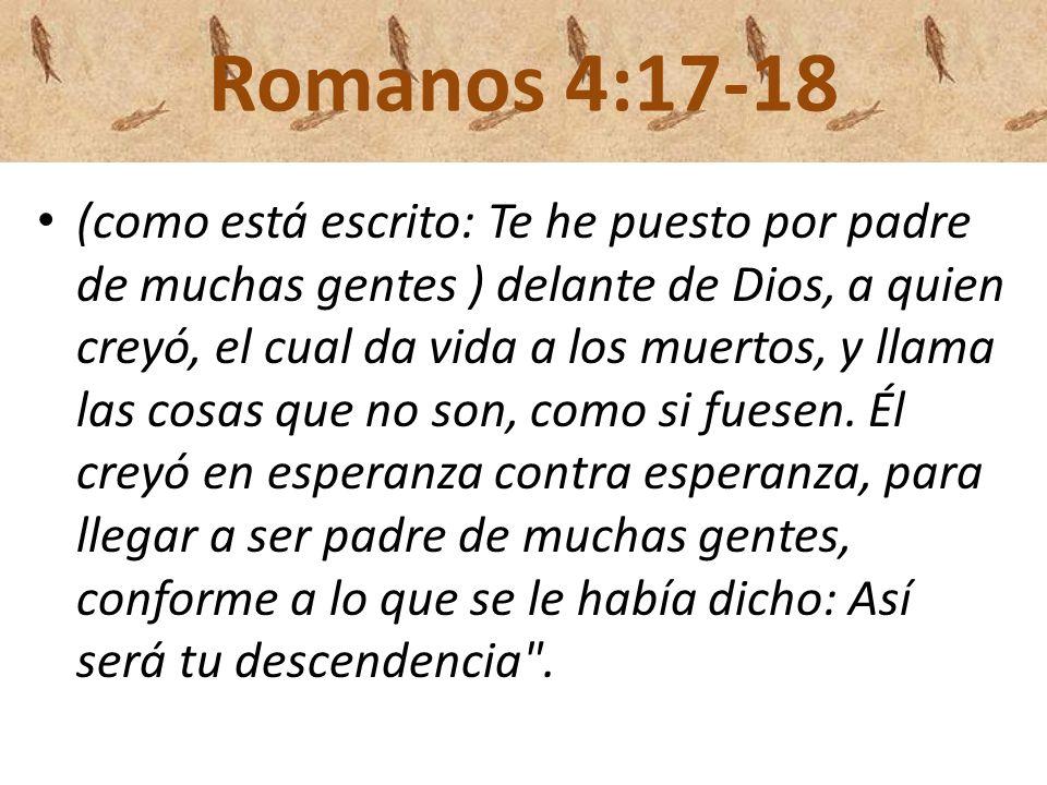 Romanos 4:17-18