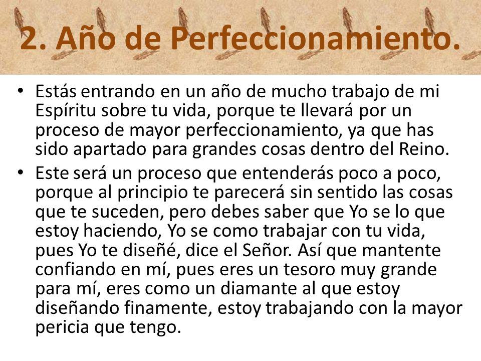 2. Año de Perfeccionamiento.