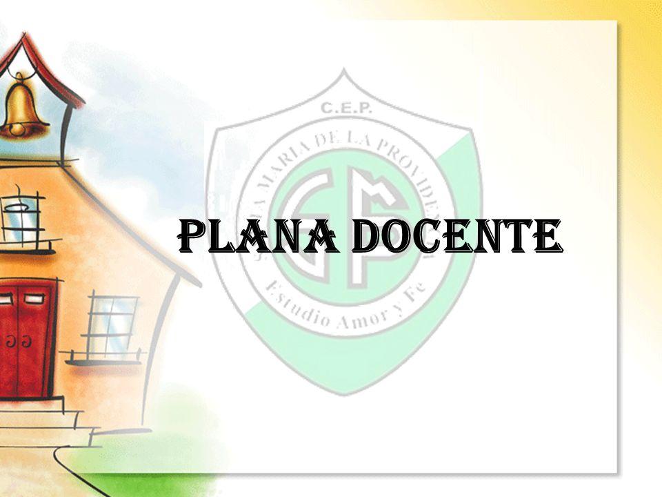 PLANA DOCENTE