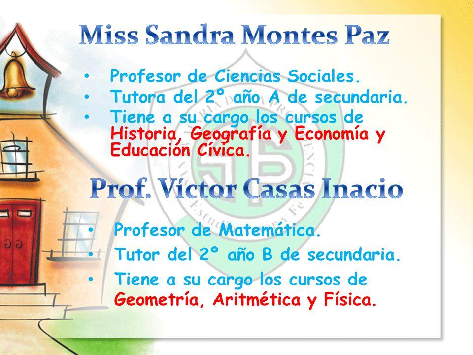 Prof. Víctor Casas Inacio