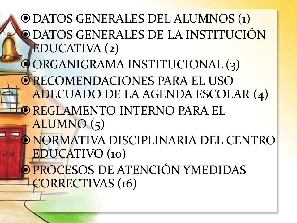 DATOS GENERALES DEL ALUMNOS (1)