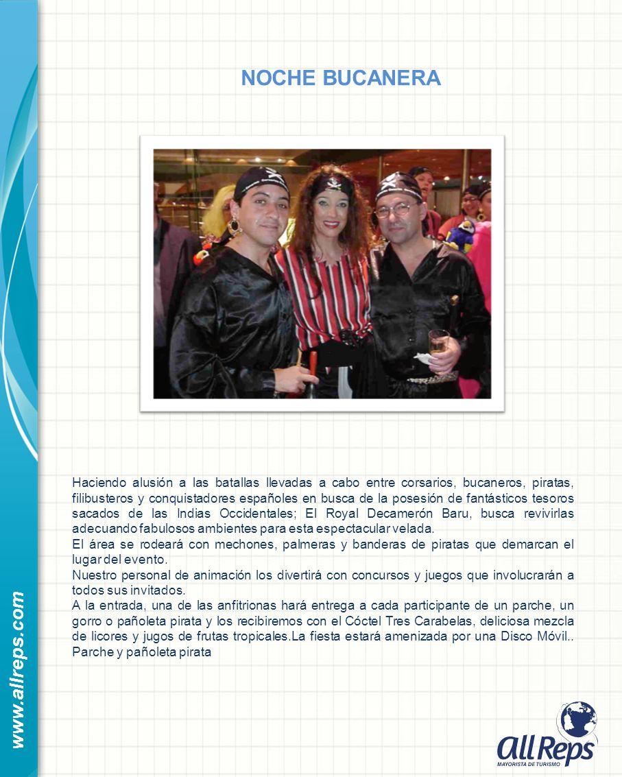 NOCHE BUCANERA www.allreps.com