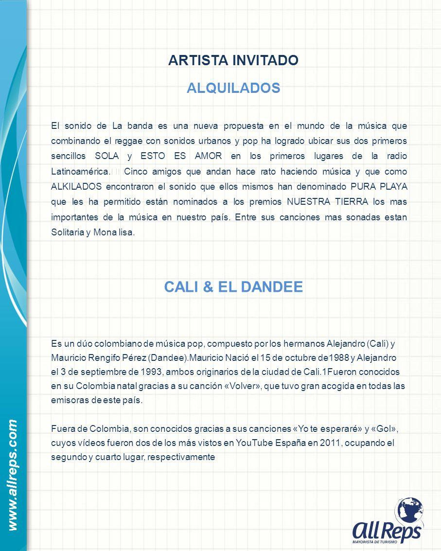 ARTISTA INVITADO ALQUILADOS