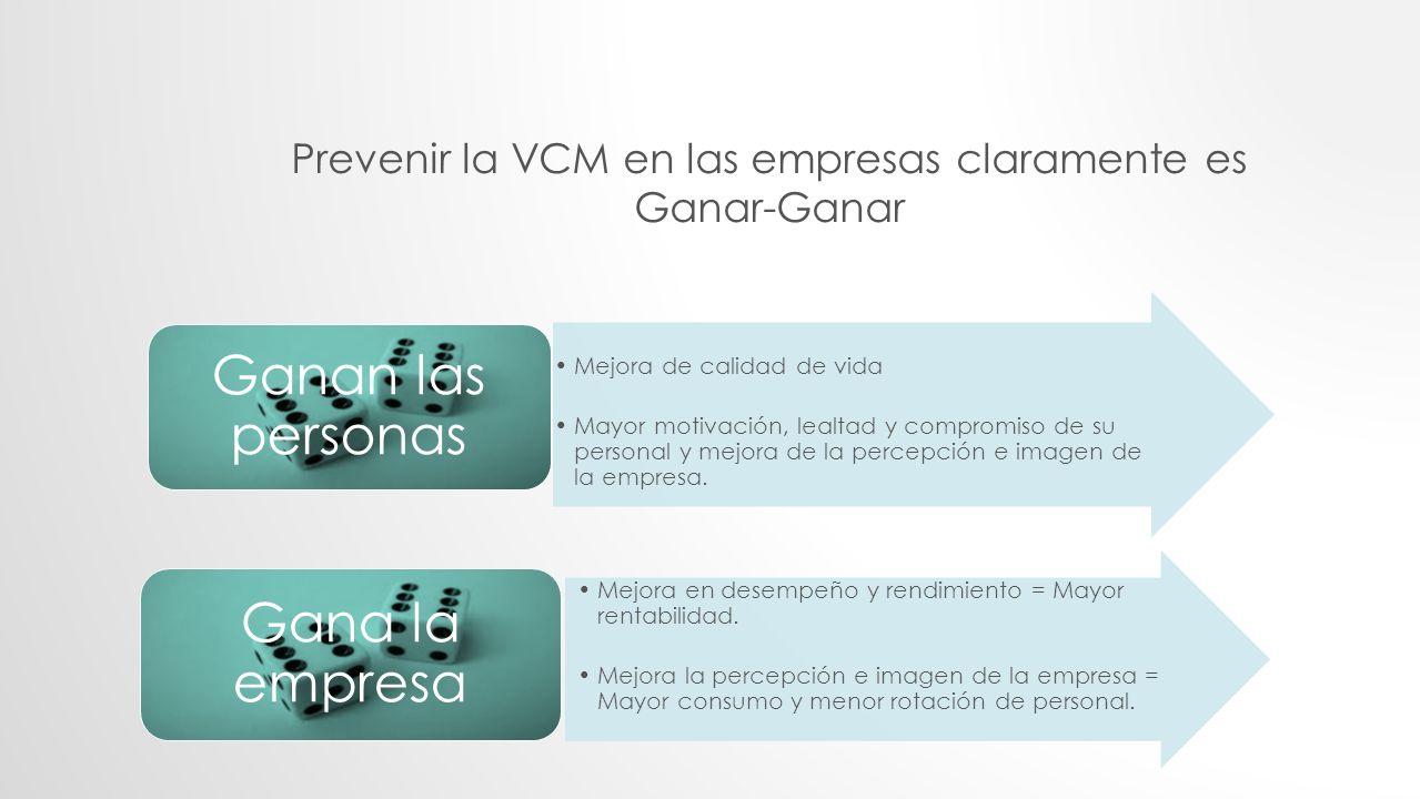 Prevenir la VCM en las empresas claramente es