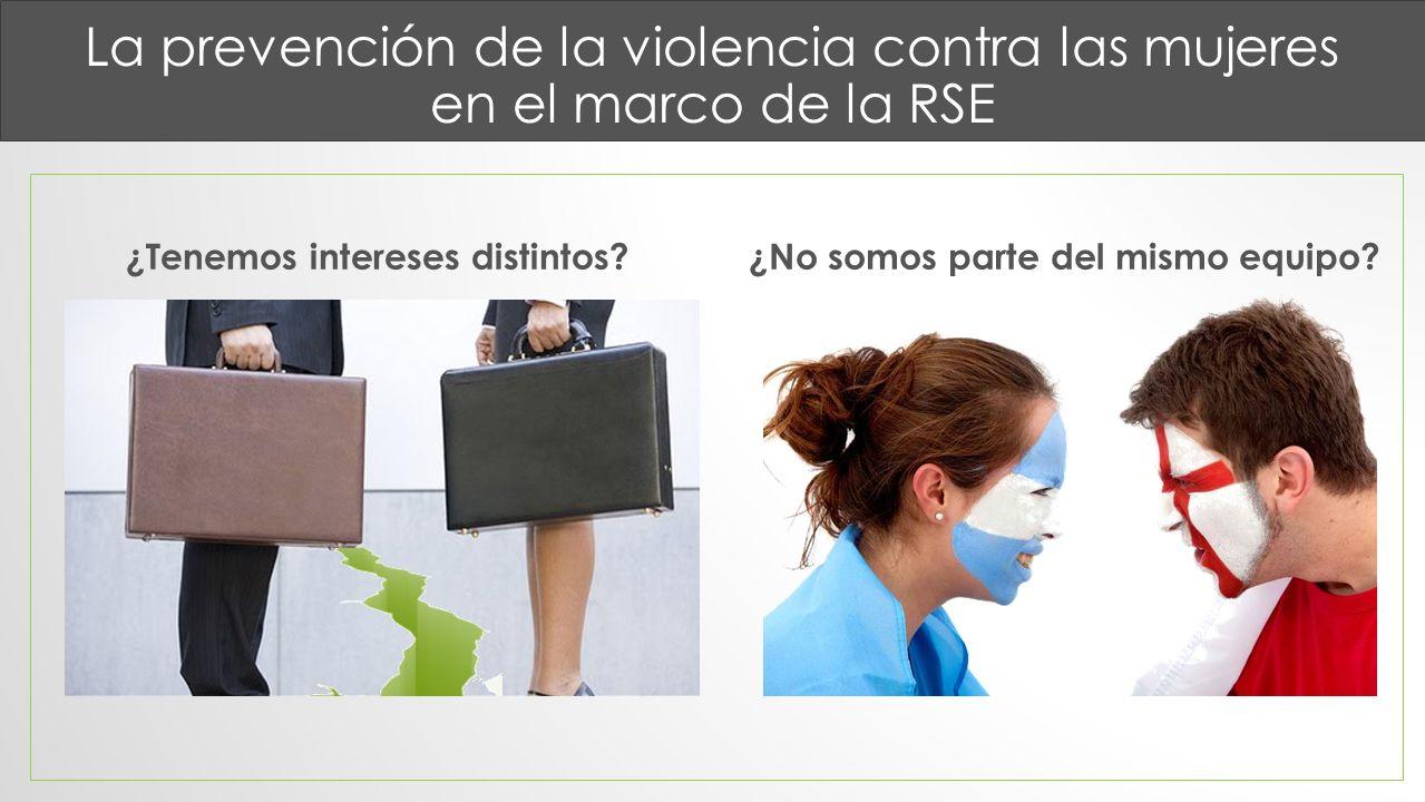 La prevención de la violencia contra las mujeres en el marco de la RSE