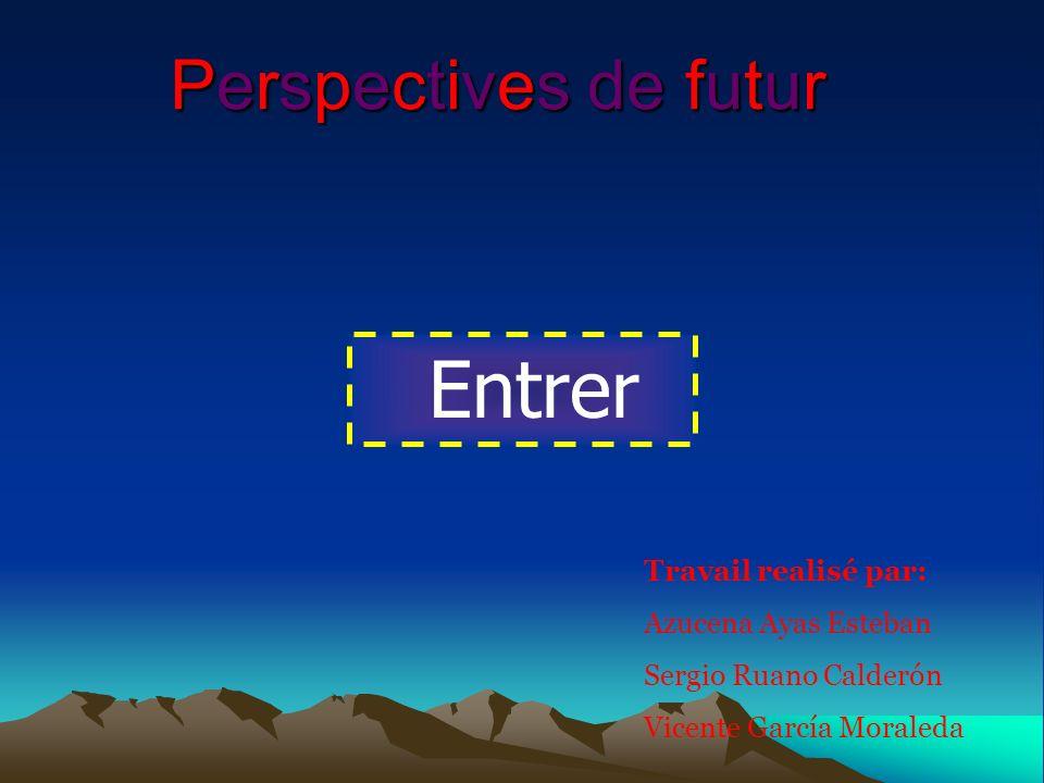 Entrer Perspectives de futur Travail realisé par: Azucena Ayas Esteban