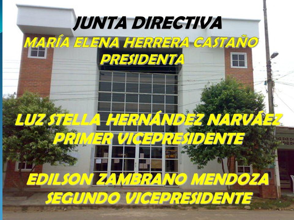 MARÍA ELENA HERRERA CASTAÑO PRESIDENTA