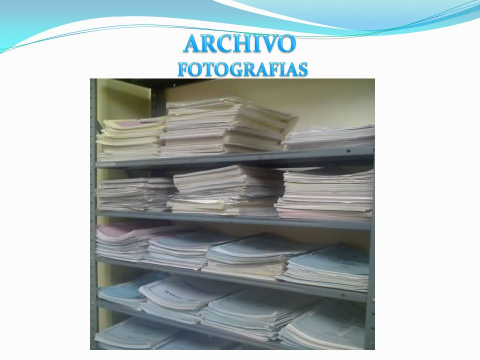 ARCHIVO FOTOGRAFIAS