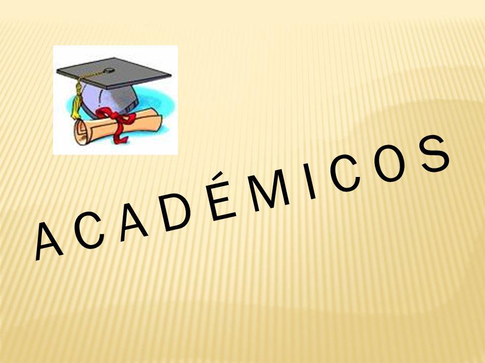 A C A D É M I C O S