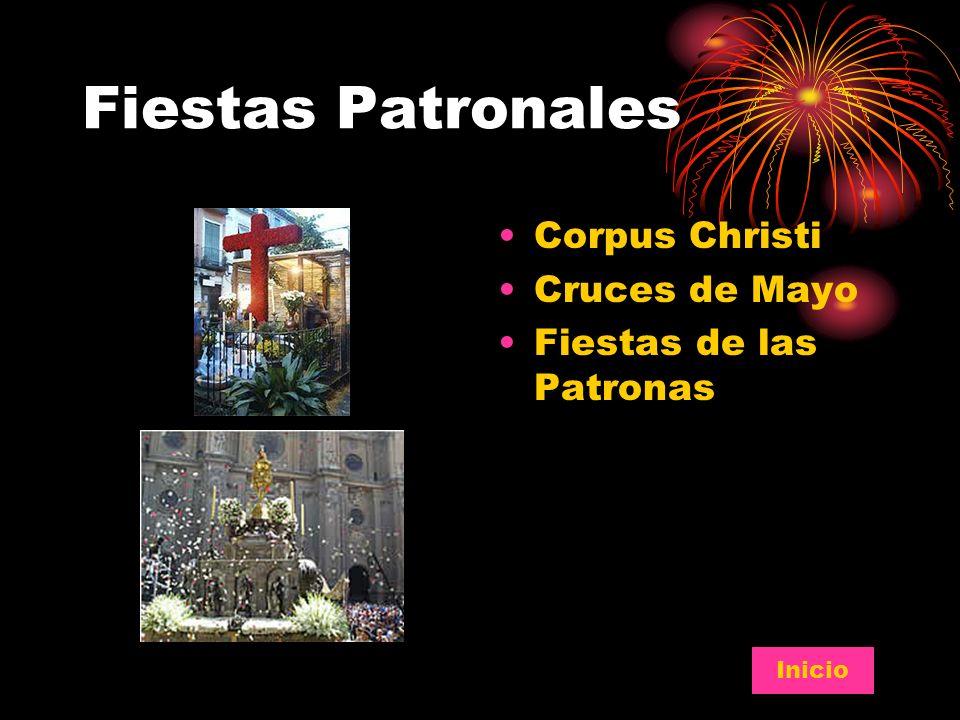 Fiestas Patronales Corpus Christi Cruces de Mayo