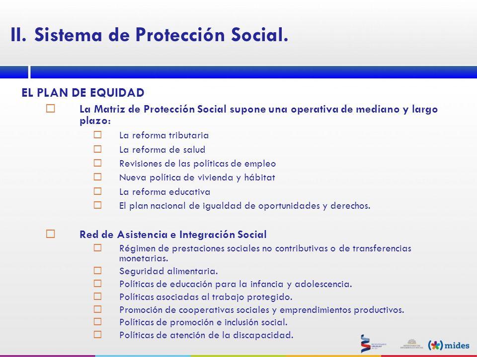 Sistema de Protección Social.